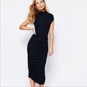 Supertrash NWT Black Darlene Dress